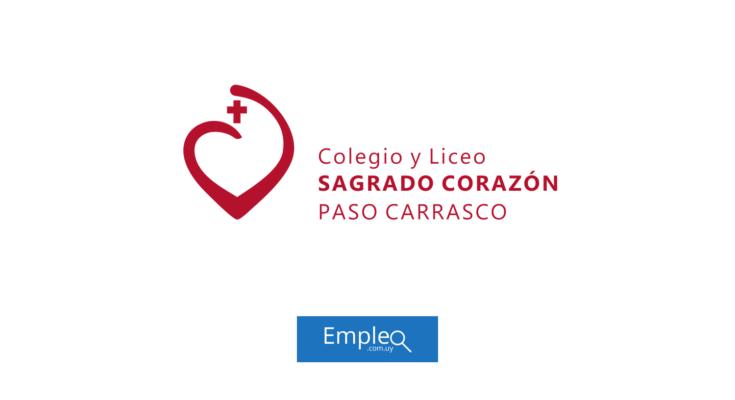 Empleo en Colegio Sagrado Corazón Paso Carrasco