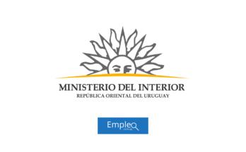 Empleo en Ministerio del Interior Uruguay