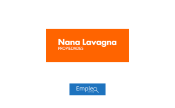 Empleo en Inmobiliaria Nana Lavagna
